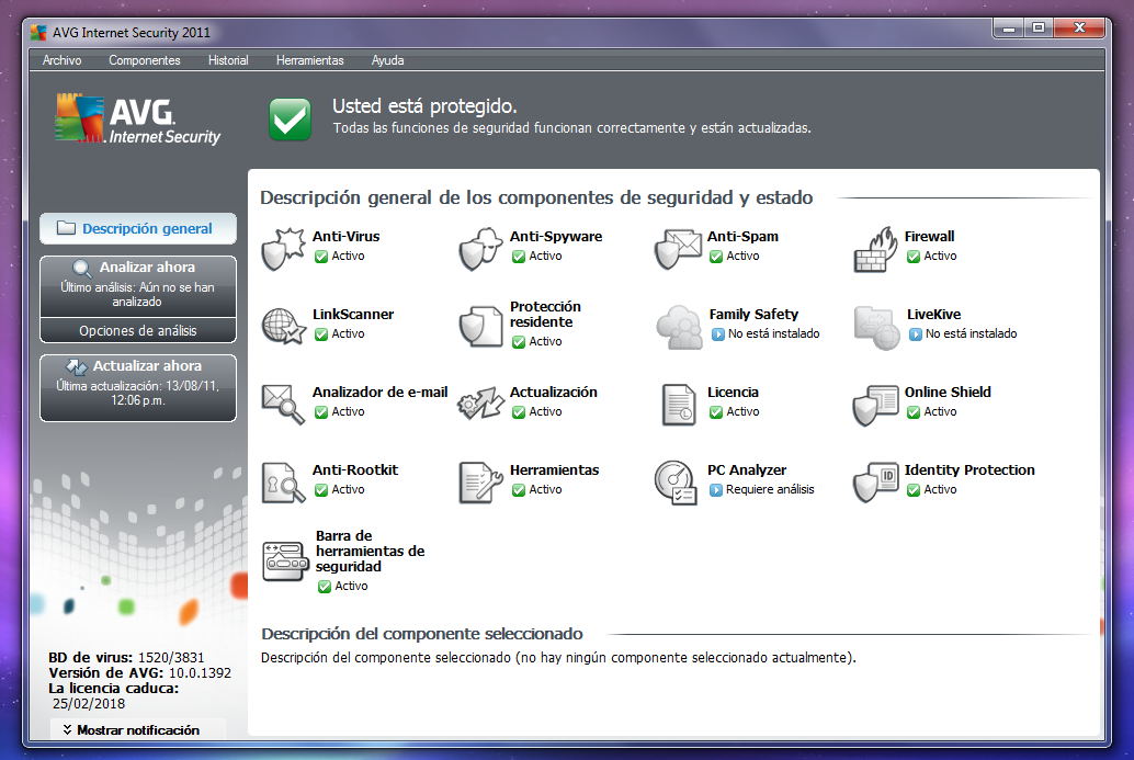 AVG Internet Security 2011- LICENCIA ETERNA