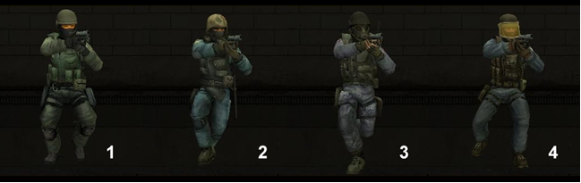 CS 1.6 vs Condition Zero vs Source vs Global Offensive